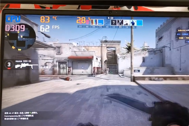 Lenovo на примере CS:GO объяснила, зачем оснащать ноутбуки на базе процессора Core i7-1065G7 видеокартой GeForce MX350