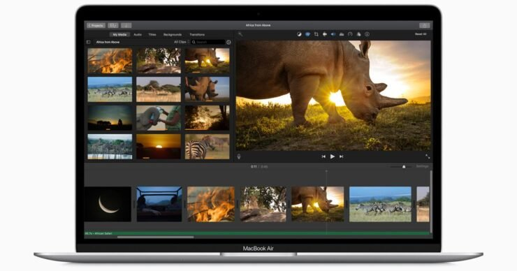 MacBook Air 2020 обошел MacBook Pro 2019 в тесте на производительность