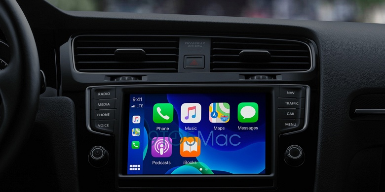 Для фанатов собственных обоев рабочего стола. В Apple CarPlay вскоре можно будет изменить обои