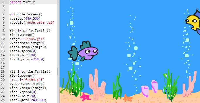 Мой способ знакомства учеников младших классов с Python - 10