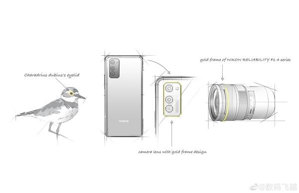 Рассекречен дизайн блока основных камер Honor 30S
