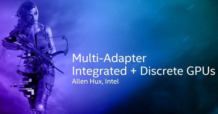 Intel показала совместную работу её встроенной графики с дискретными видеокартами
