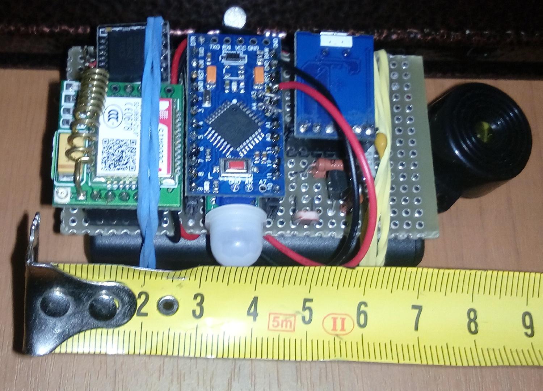 Автономная охранная система на Arduino + GSM - 7