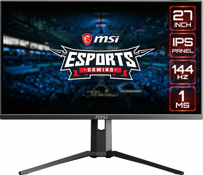 Мониторы MSI Optix MAG273 и Optix MAG273R поддерживают частоту обновления 144 Гц