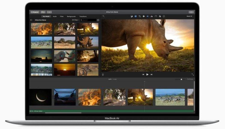 Новый MacBook Air по-прежнему отстаёт по производительности от MacBook Pro 2019
