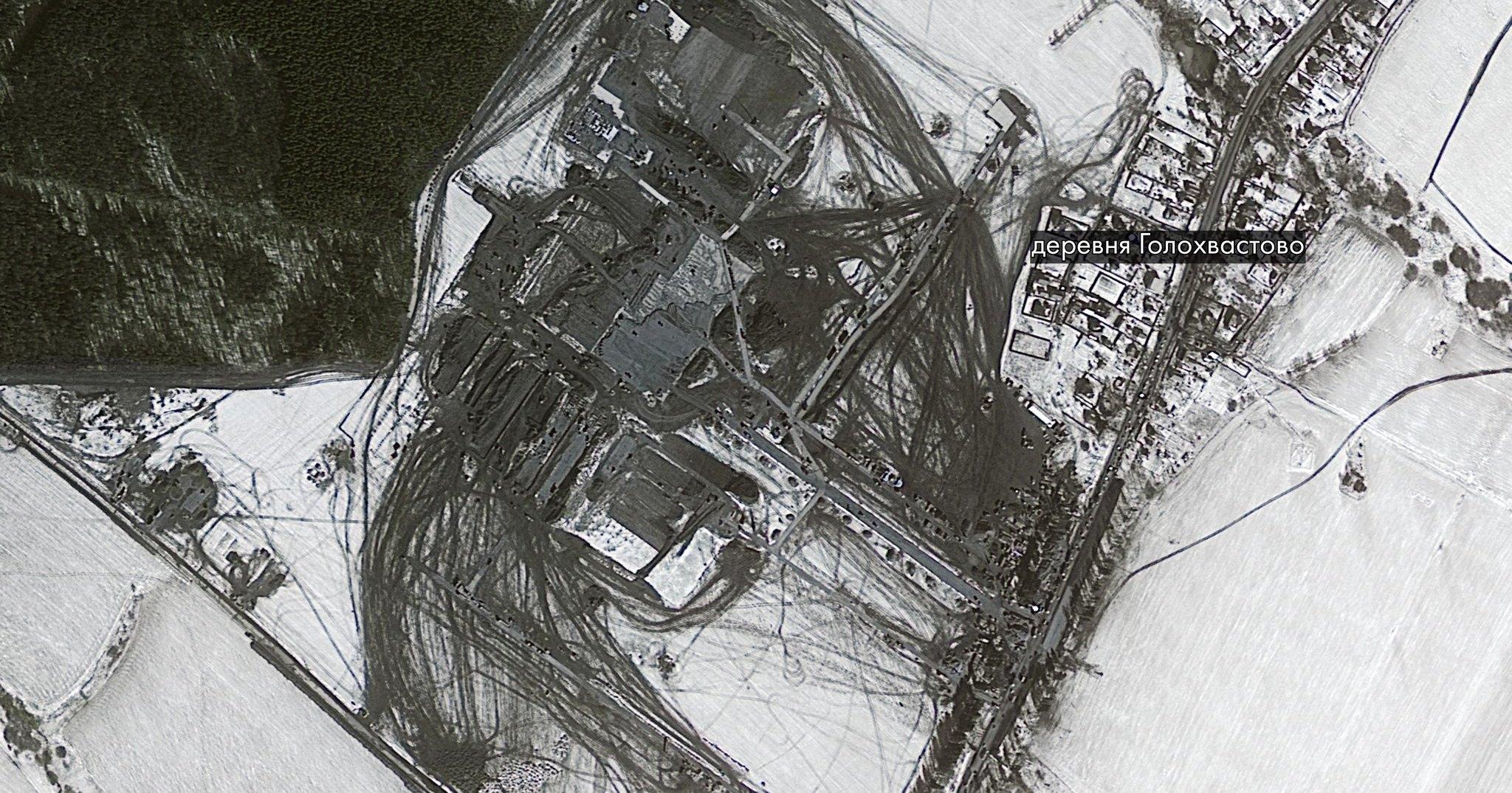Строительство больницы под коронавирус в Москве показали из космоса