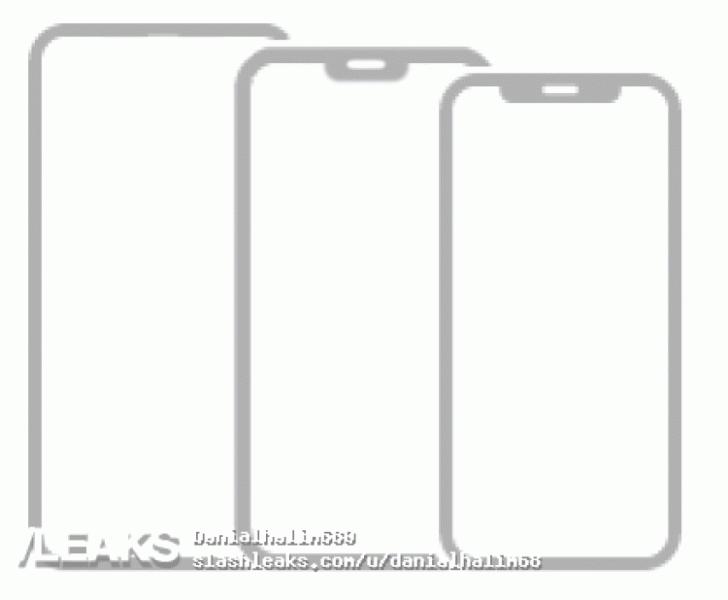 В линейке iPhone 12 обнаружены модели с челкой и без таковой