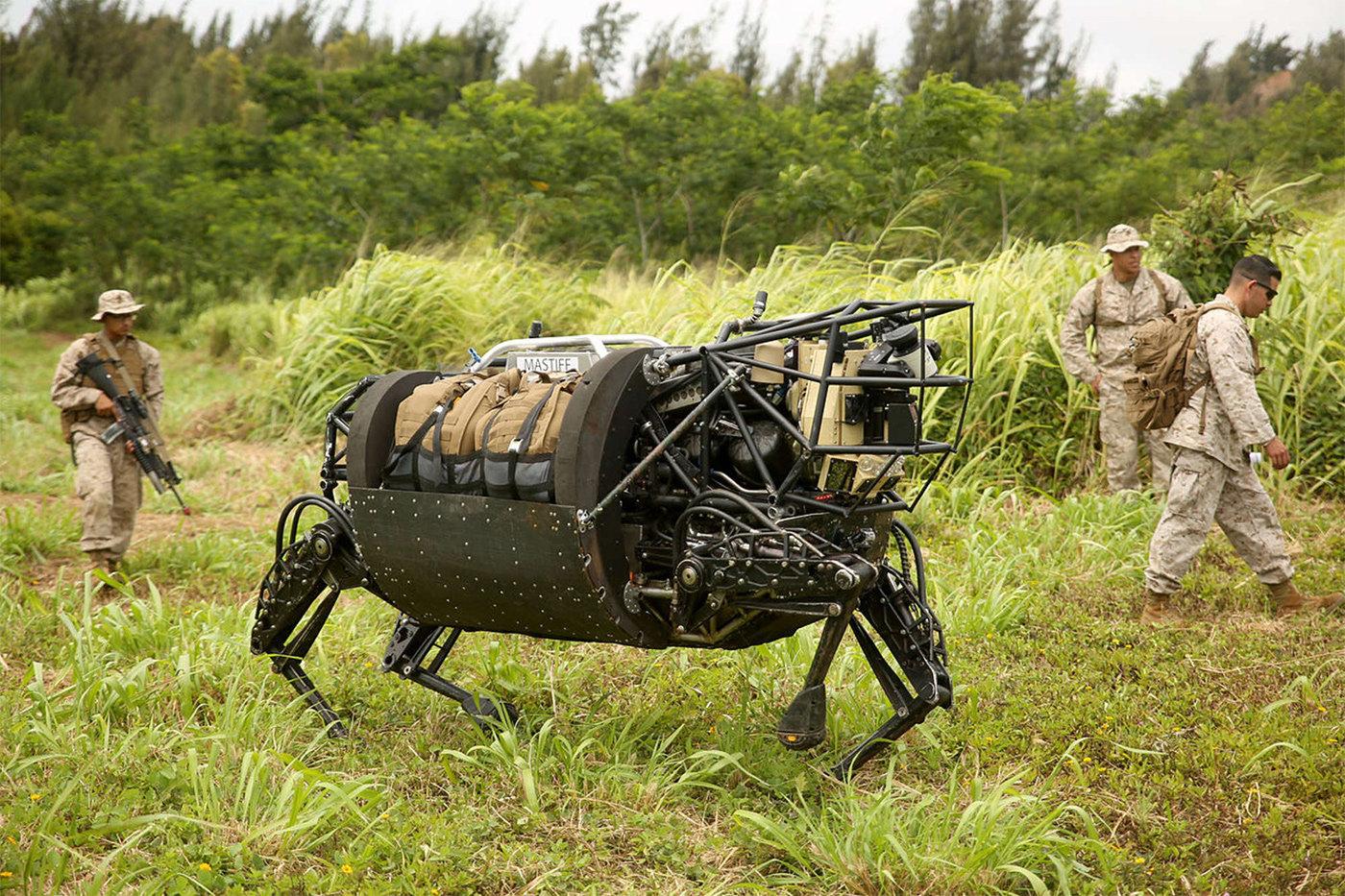 Boston Dynamics: от заказов для армии США к коммерческому роботу Spot - 4