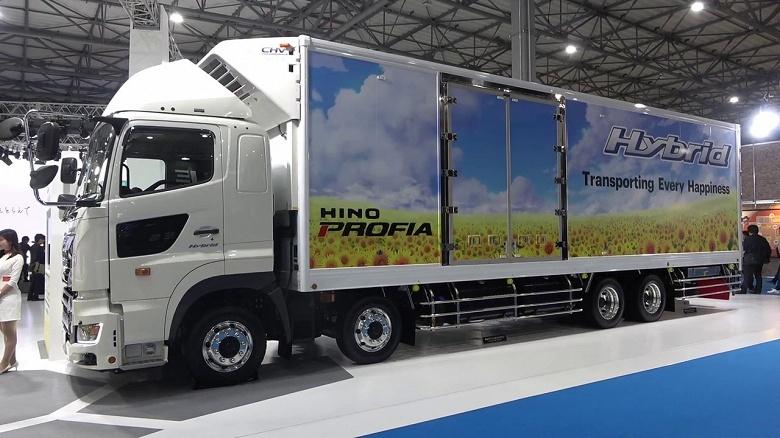 Toyota планирует разработать грузовик на топливных элементах