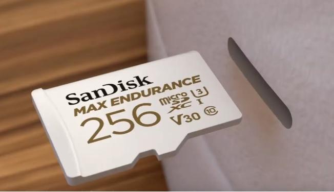 Гарантия на microSD-карты SanDisk Max Endurance достигает 15 лет - 1