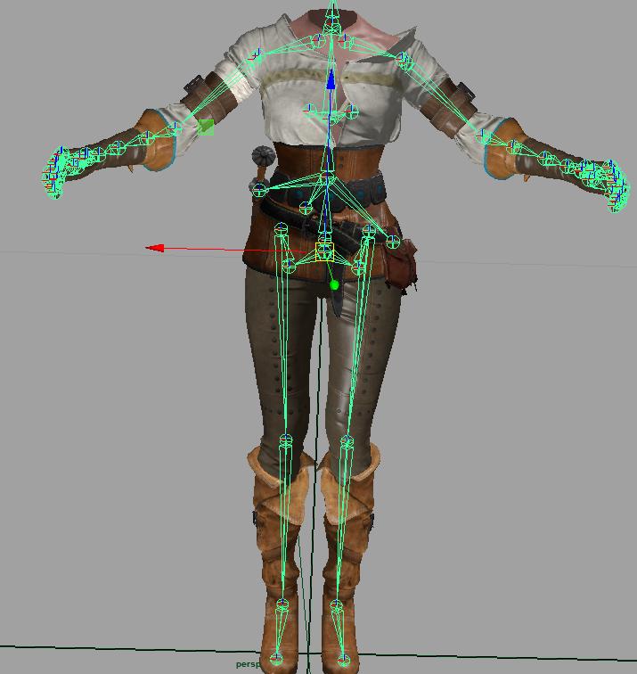 Руководство по сжатию скелетных анимаций - 1