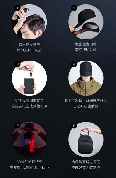 1,7 млн долларов на площадке Xiaomi собрала шапочка для роста волос