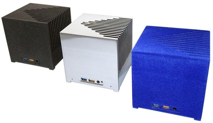 Bleujour KUBB NUC: мини-ПК на Intel NUC с пассивным охлаждением и необычной внешностью