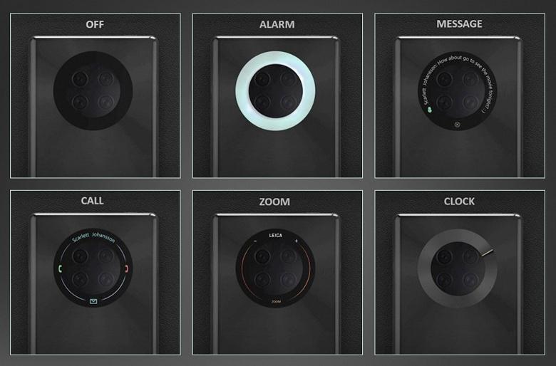Huawei Mate 40 Pro может получить кольцевой дисплей, опоясывающий модуль основной камеры