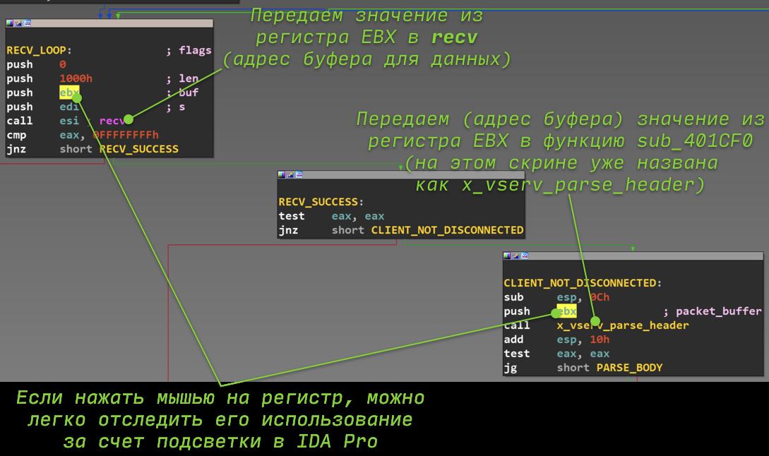 IDA Pro и техники реверс-инжиниринга - 19