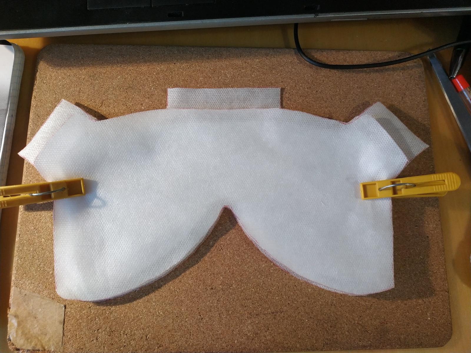 Как я изготовил респиратор KN95 в домашних условиях из подручных материалов. Подробная инструкция - 16
