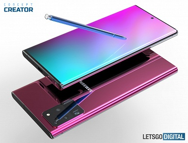 Таким будет Samsung Galaxy Note 20 Plus. Ожидаемые характеристики и рендеры флагманского планшетофона