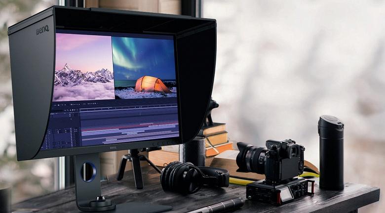 В мониторе BenQ SW321C используется 32-дюймовая панель IPS разрешением 4К