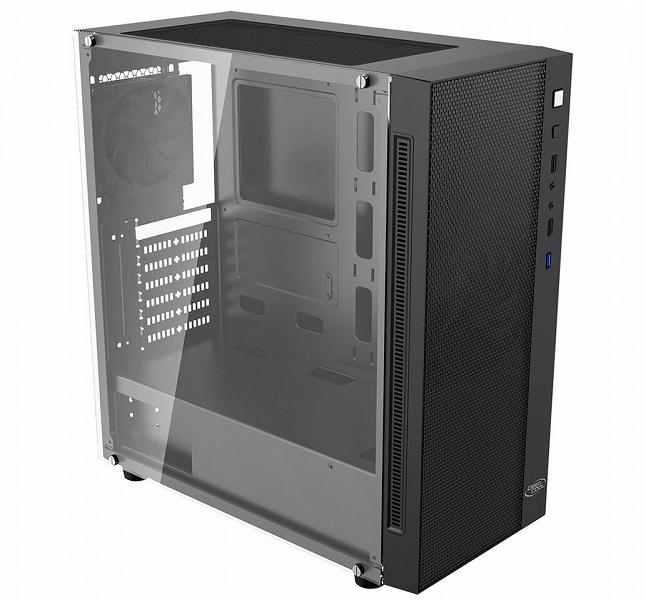Корпус DeepCool MATREXX 55 PWM 2F комплектуется двумя вентиляторами, скорость вращения которых регулируется с помощью ШИМ