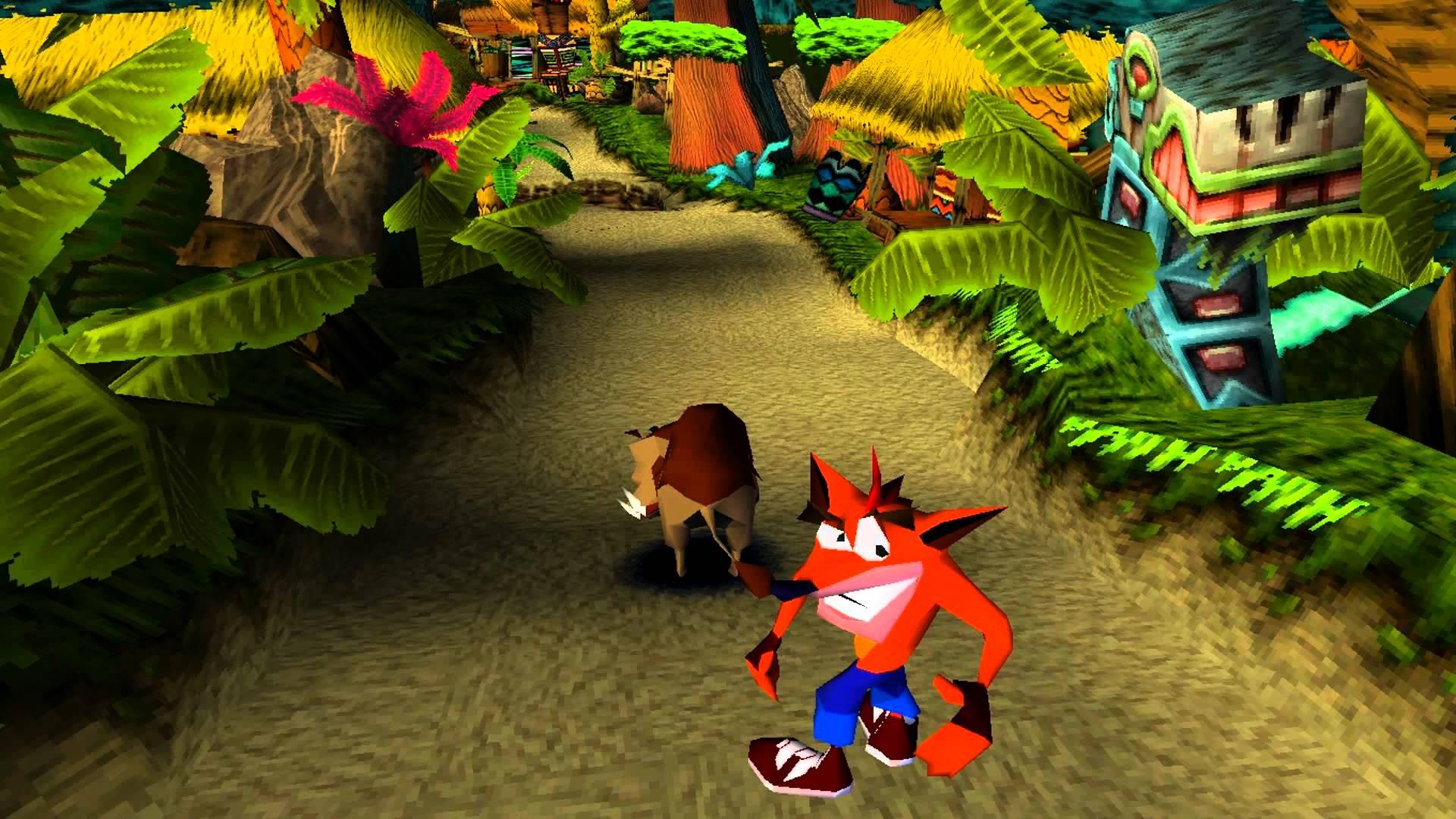 Как Crash Bandicoot взламывал Playstation - 1
