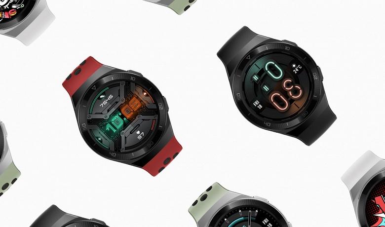 Представлены умные спортивные часы Huawei Watch GT 2e