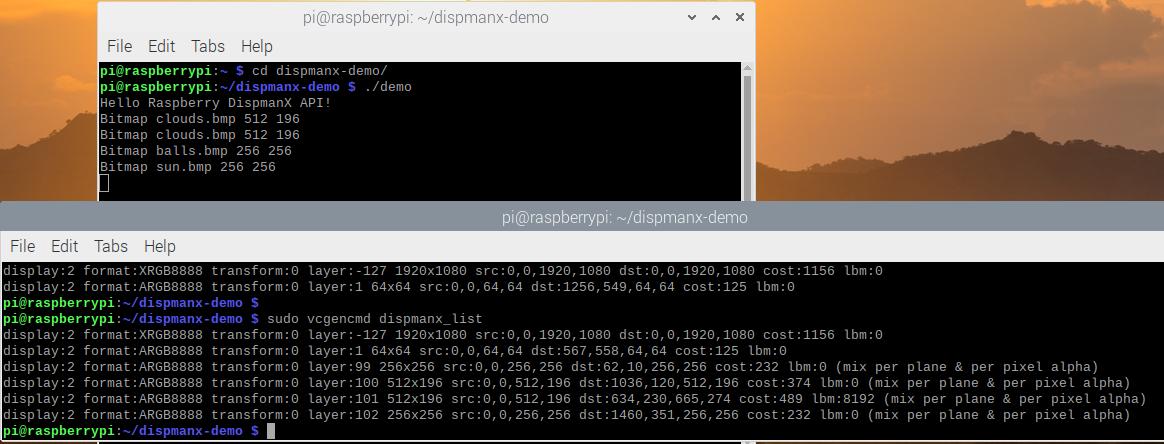 Программирование видео слоя в Raspberry Pi с использованием DispmanX API - 5