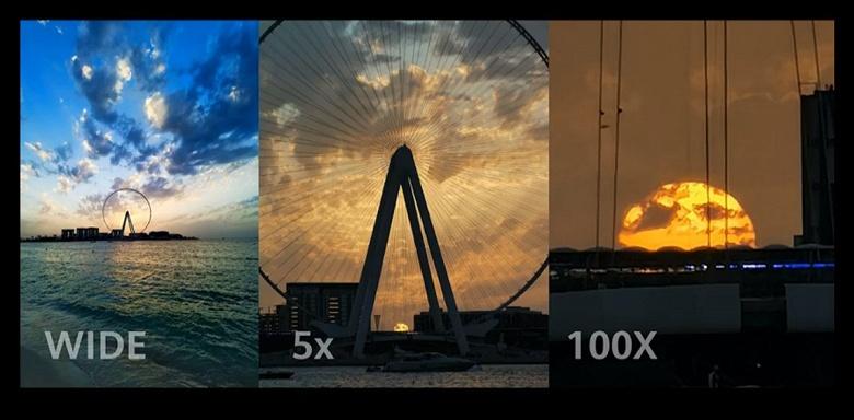 100-кратный зум Huawei P40 Pro+ наголову лучше аналогичного у Samsung Galaxy S20 Ultra