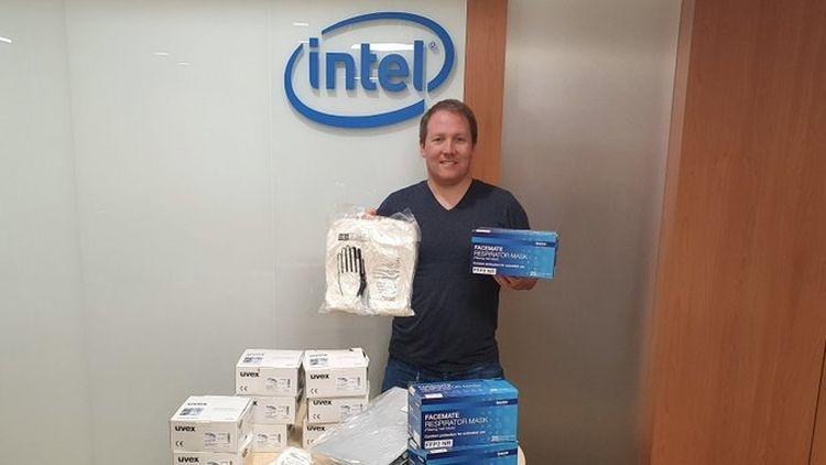 Intel тоже начнёт раздавать деньги и маски нуждающимся в период пандемии