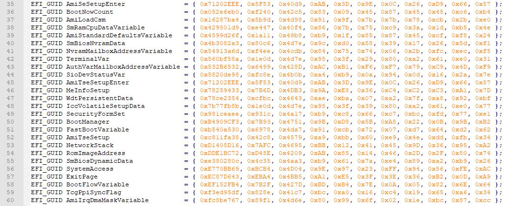Проблематика и особенности реализации UEFI на различных платформах - 8