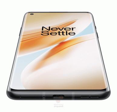 OnePlus 8 в трех цветах на 18 официальных рендерах