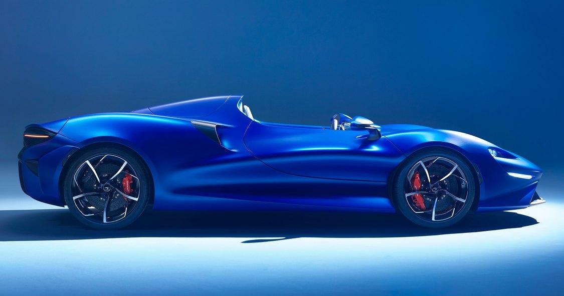 McLaren показал работу лобового стекла из воздуха