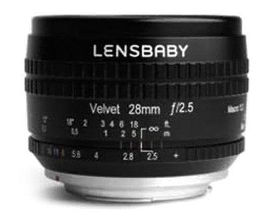 Объектив Lensbaby Velvet 28 будет выпускаться в вариантах с креплениями Canon EF, Canon RF, Nikon F, Nikon Z, Sony E, Fujifilm X и MFT