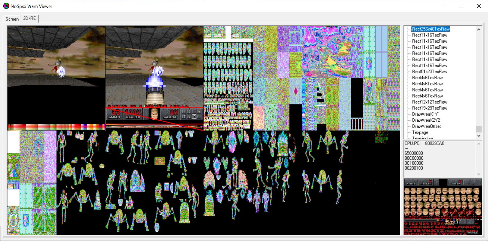 Полигоны Doom на Playstation - 24