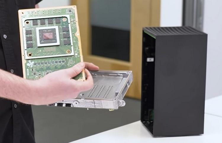 Разборка Xbox Series X показала внутреннее устройство консоли