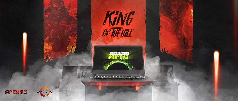 XMG Apex 15 — самый мощный в мире потребительский ноутбук. Единственный на рынке, оснащённый 16-ядерным Ryzen 9 3950X