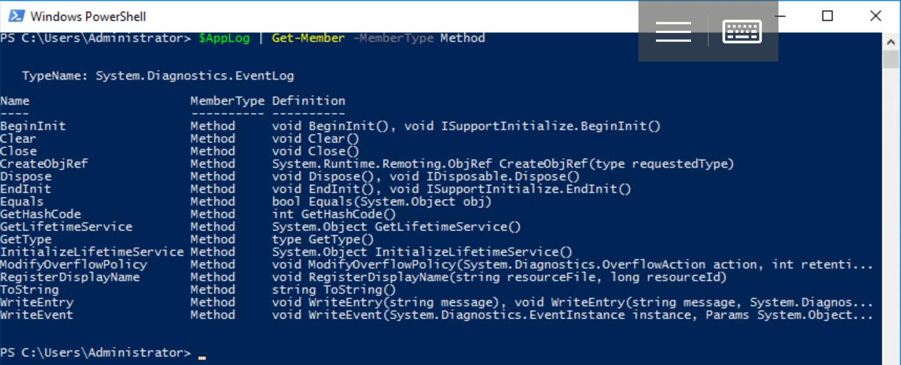 Что такое Windows PowerShell и с чем его едят? Часть 4: Работа с объектами, собственные классы - 14