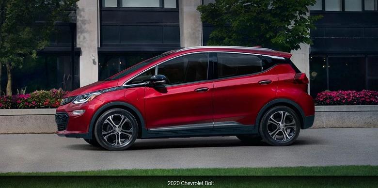 Выпуск обновленного электромобиля Chevrolet Bolt отложен до 2021 года