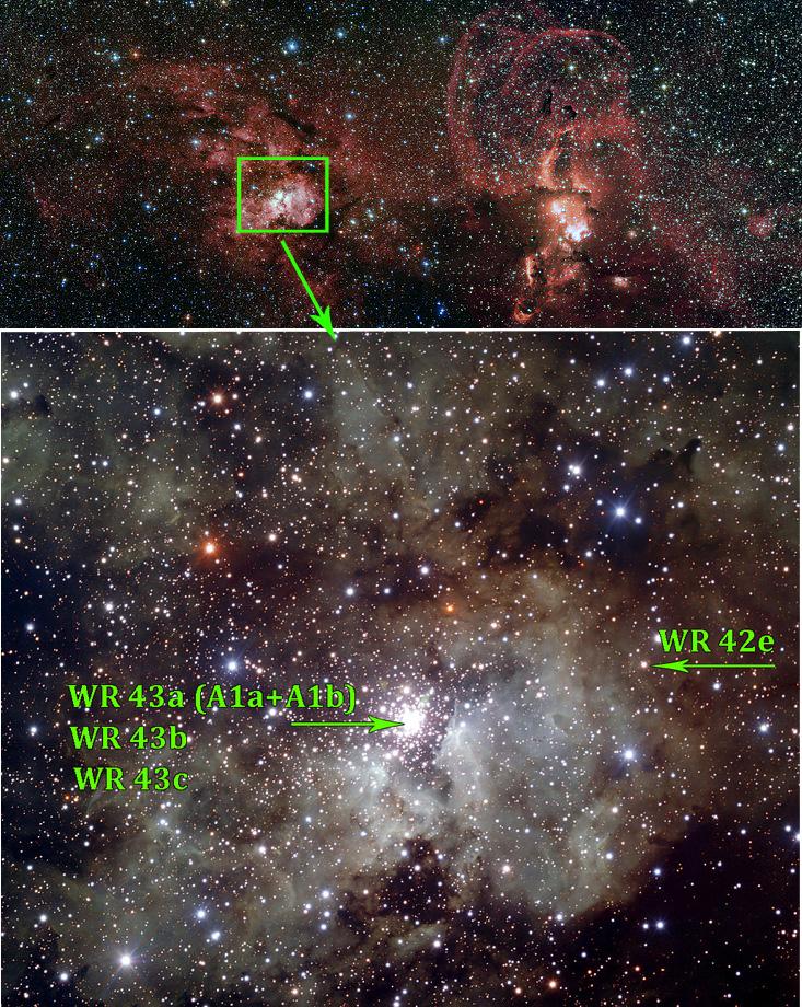 Звезды Вольфа-Райе — монстры под вуалью - 2