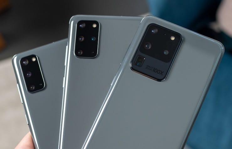 Samsung Galaxy S20 получил апрельское обновление Android еще в марте