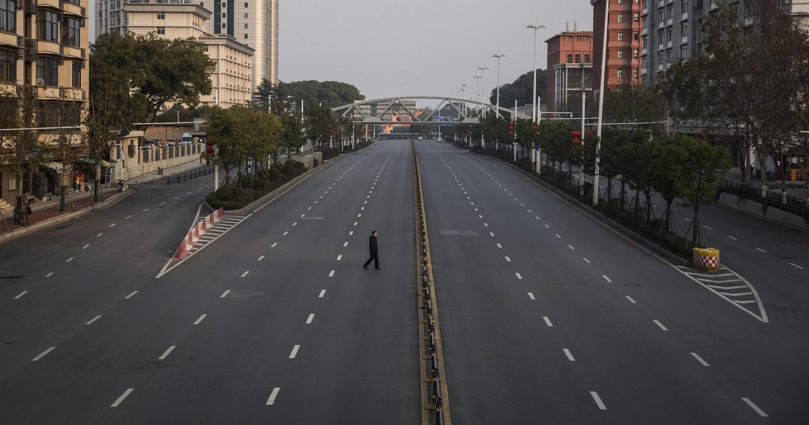 Пустые города: как коронавирус изменил мир