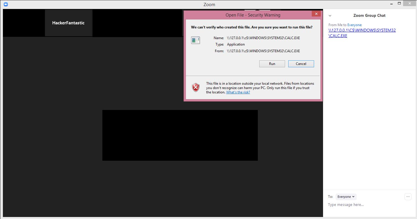 В Zoom обнаружена уязвимость, способная привести к компрометации учетных записей Windows - 4
