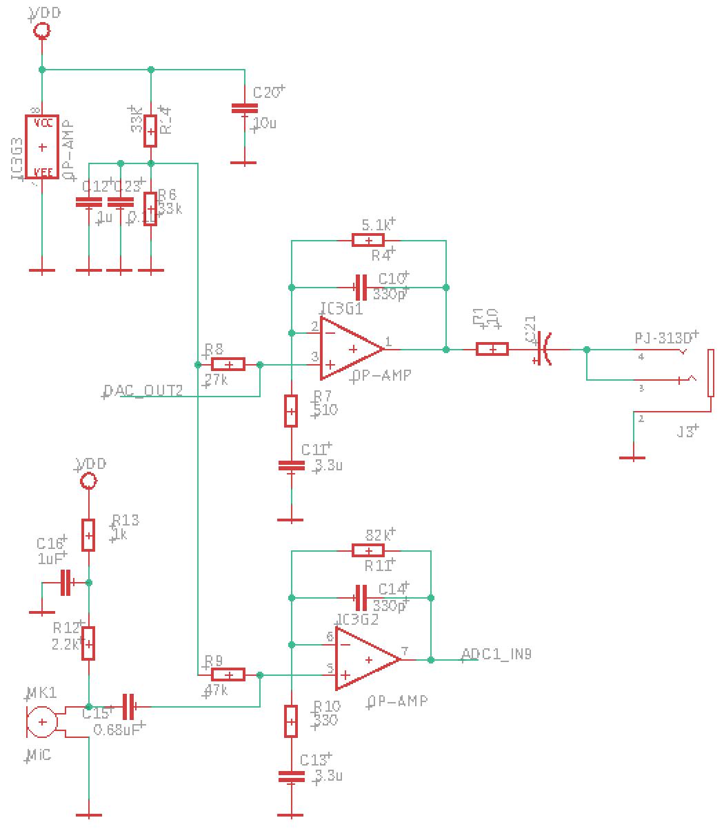 STM-32 Минимальная аудио плата - 6
