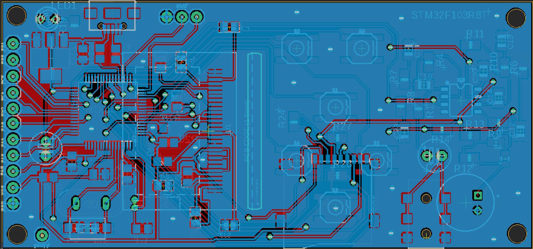 STM-32 Минимальная аудио плата - 9