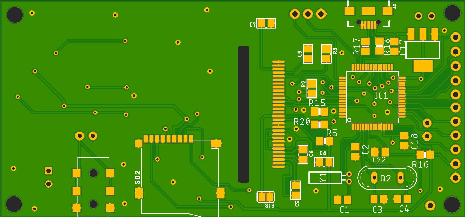 STM-32 Минимальная аудио плата - 1