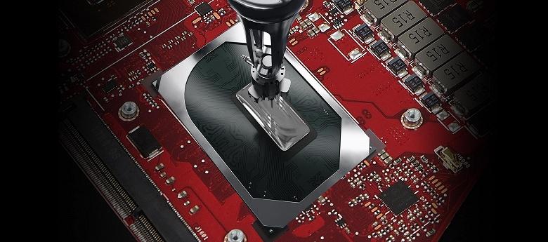 В ноутбуках Asus ROG используется термоинтерфейс из жидкого металла