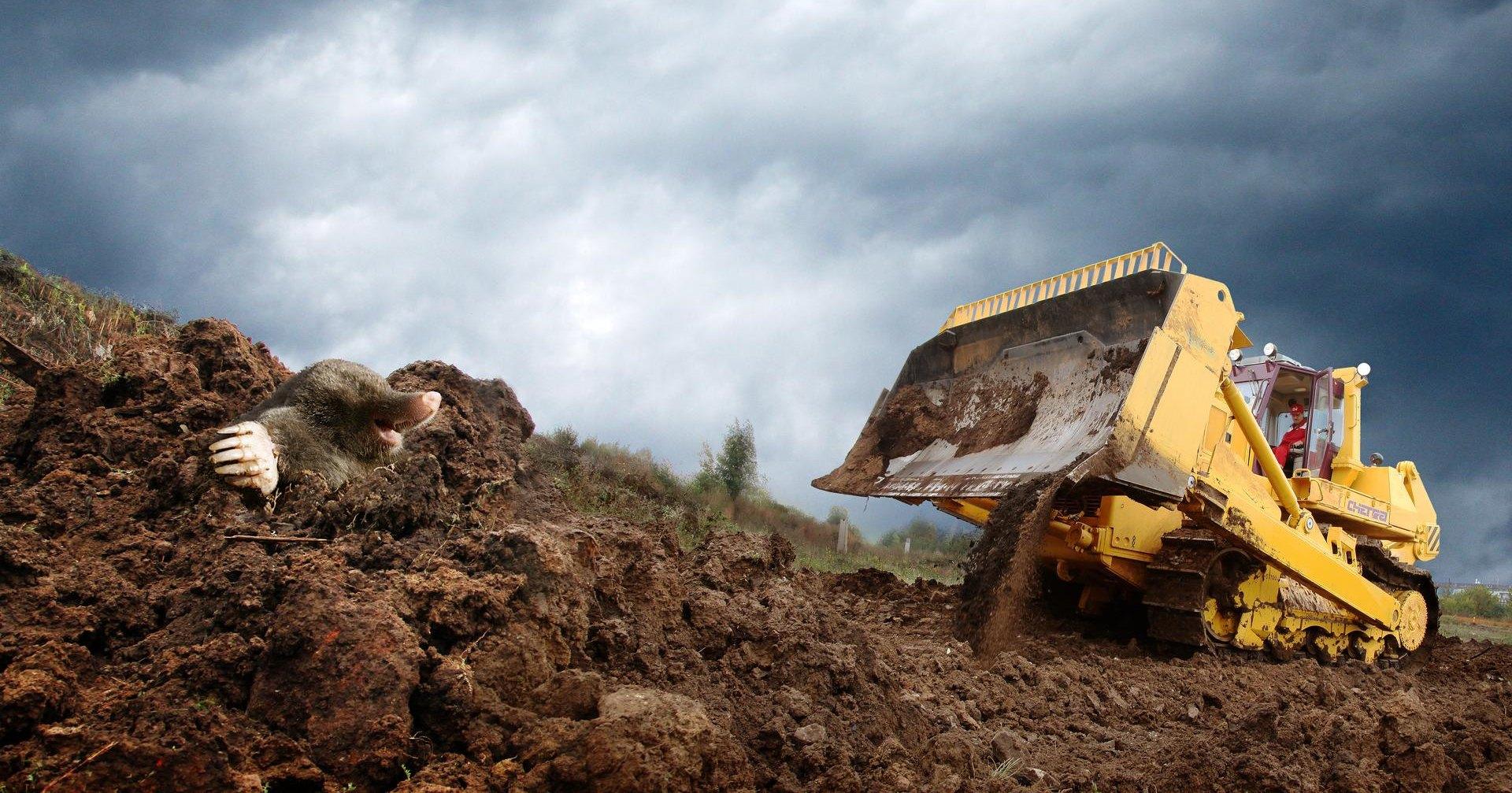 Властелин земли: самый тяжелый бульдозер