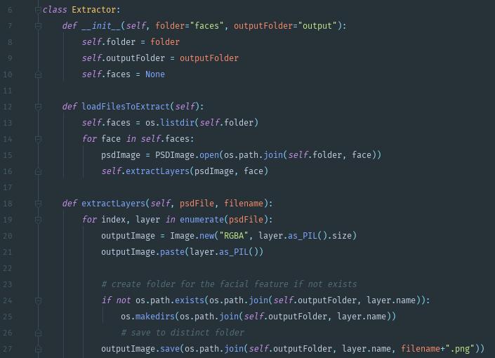 Как я сгенерировал на Python тысячу лиц для своей игры - 6