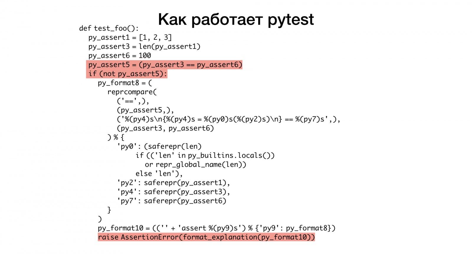 Макросы для питониста. Доклад Яндекса - 7