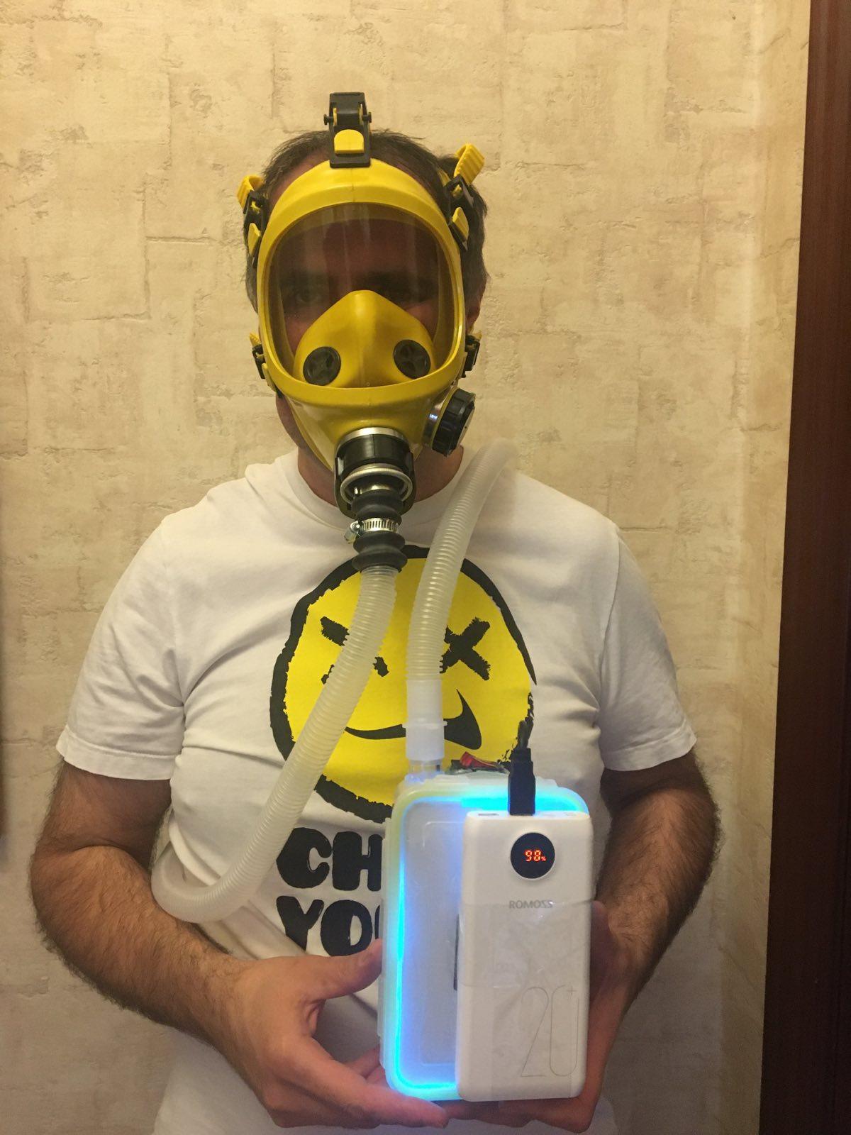 Моя попытка задержать COVID-19 (автономный дыхательный аппарат) - 2