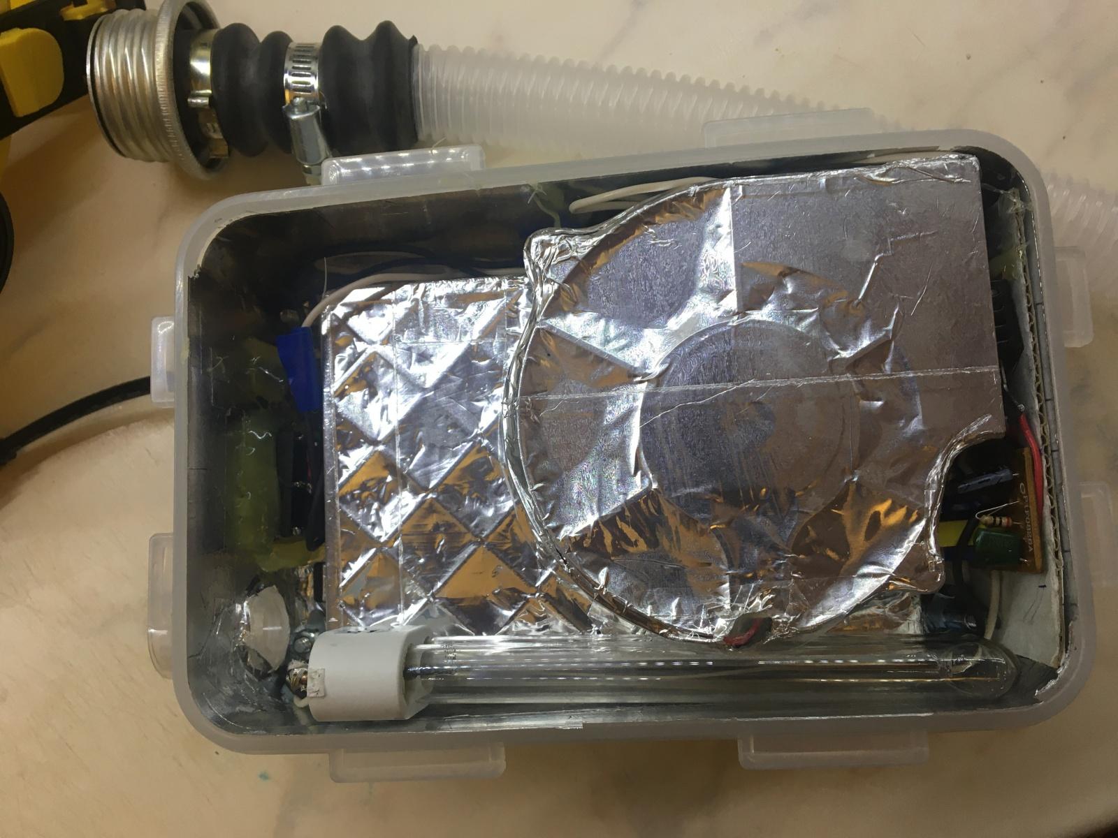 Моя попытка задержать COVID-19 (автономный дыхательный аппарат) - 23